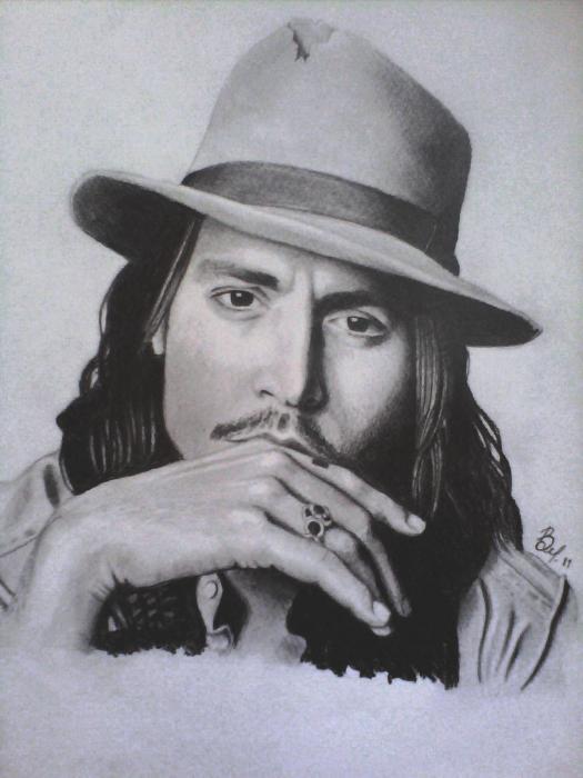 Johnny Depp by vladimir27
